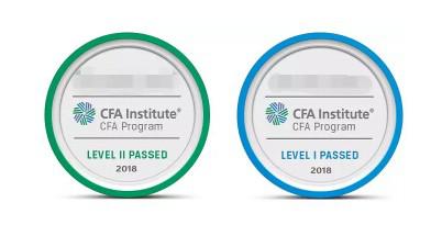 CFA一级证书长什么样子?为何是个圆形的东西?